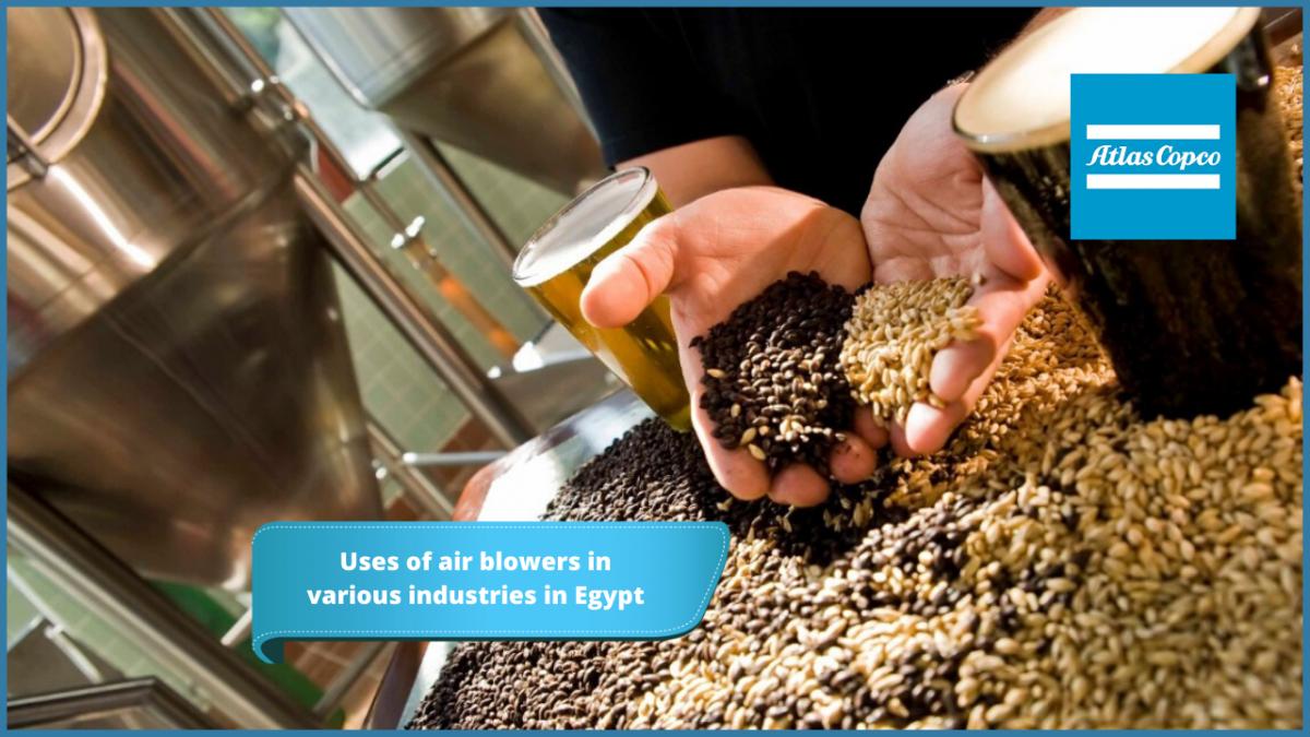 استخدام نوافخ الهواء في الصناعات